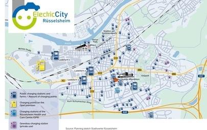 """Η γενέτειρα της Opel γίνεται """"Ηλεκτρική Πόλη"""": Το Rüsselsheim θα έχει την Υψηλότερη Συγκέντρωση Σταθμών Φόρτισης στην Ευρωπαϊκή Ένωση"""