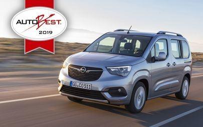 """Γκαλά AUTOBEST: Επίσημη Απονομή του Τίτλου """"Best Buy Car of Europe 2019"""" στο Opel Combo Life"""