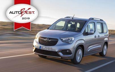 "AUTOBEST: Το Opel Combo Life Απέσπασε τον Τίτλο ""Best Buy Car of Europe 2019"""